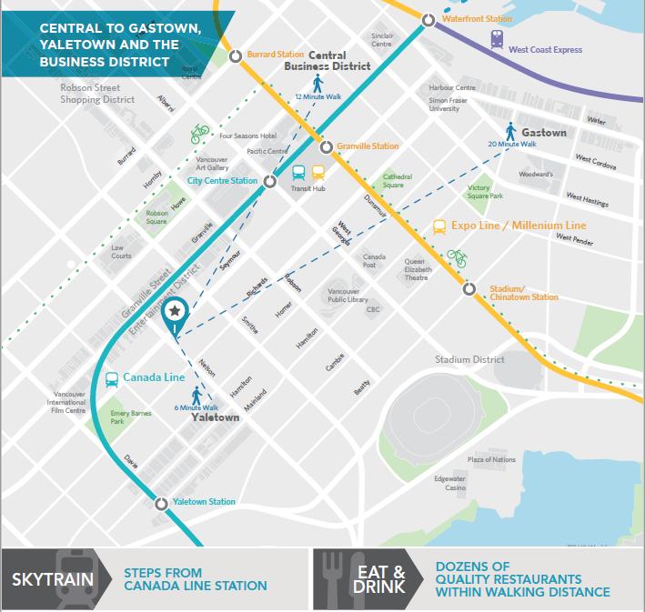 VanCubers Downtown Map